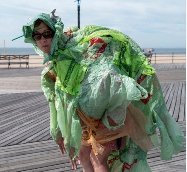 Lynn Neuman at March for the Ocean